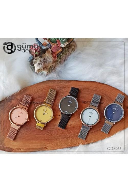 Klasik Hasır Kordon Kadın Kol Saati - GDS035