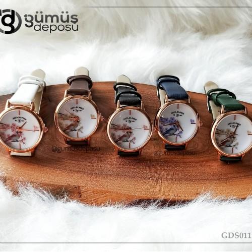 Deri Kordon Kadın Kol Saati - GDS011